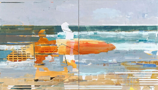 Michael Azgour, 'Two Surfers', 2018