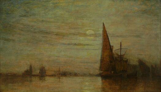 William Gedney Bunce, 'Nocturne, Venice', ca. 1890