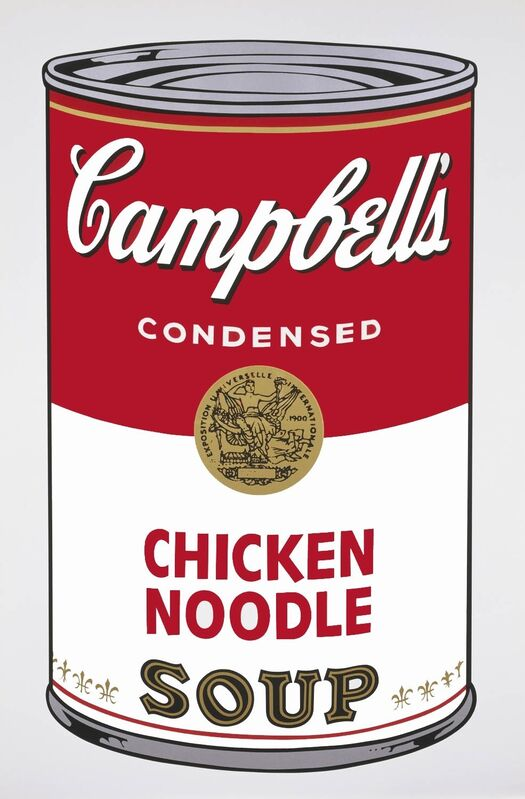 Andy Warhol, 'Campbell's Soup I: Chicken Noodle (FS II.45) ', 1968, Print, Screenprint on Paper, Revolver Gallery