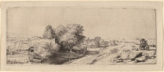 Landscape with a Milkman