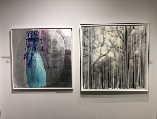 Connect Contemporary at Seattle Art Fair 2019, installation view