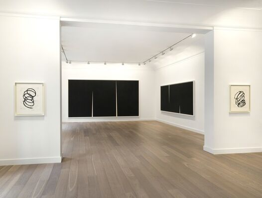 Double Rift, installation view