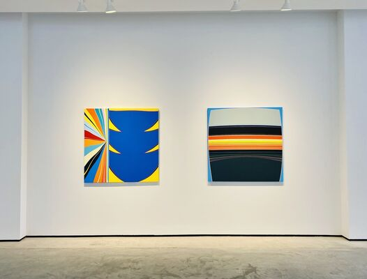 ATOMIC COLOR: Charlie Edmiston   Kurt Herrmann   Greta Van Campen, installation view