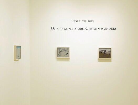 Nora Sturges: On Certain Floors, Certain Wonders, installation view