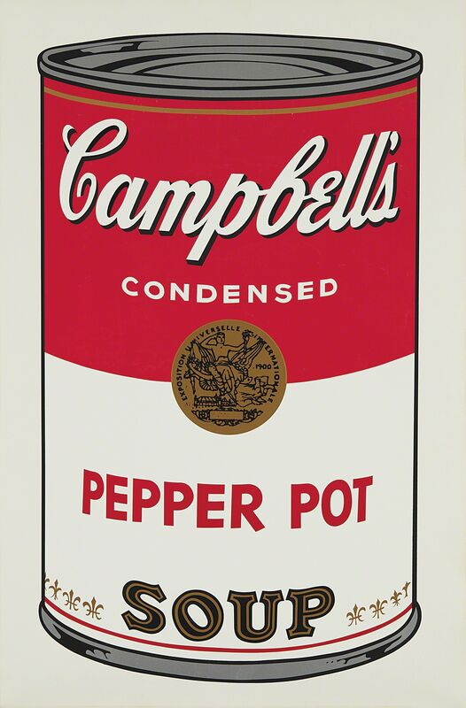 Andy Warhol, 'Pepper Pot, from Campbell's Soup I', 1968, Print, Screenprint in colors, on wove paper, with full margins., Phillips