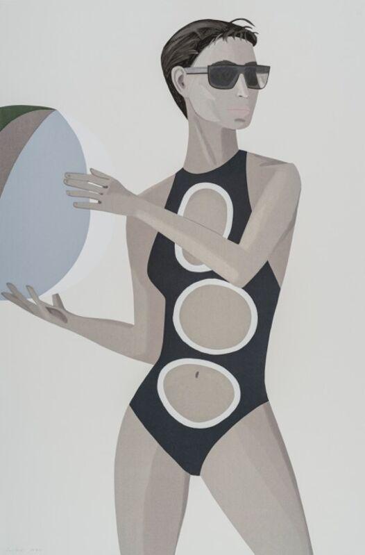 Alex Katz, 'Chance (Anne) ', 2016, Print, 27-33 colour silkscreen on Saunders Waterford, white, cold press, 300 gsm fine art paper, Nikola Rukaj Gallery