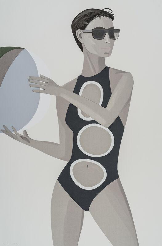 Alex Katz, 'Chance 1 (Anne)', 2016, Print, Silkscreen on paper, Galerie Schimming