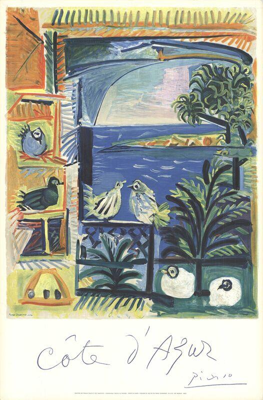Pablo Picasso, 'Cote D'Azur', 1968, Posters, Stone Lithograph, ArtWise