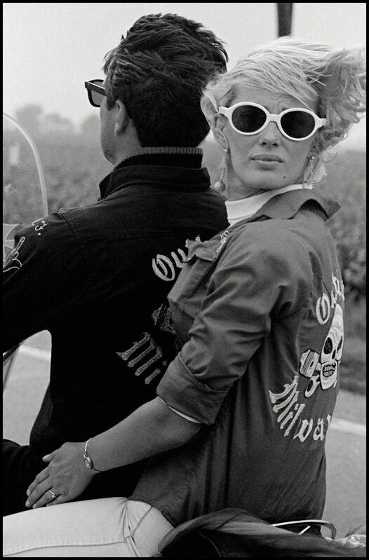 Danny Lyon, 'Memorial Day Run, Milwaukee', 1966, Photography, Gelatin silver enlargment print, Edwynn Houk Gallery