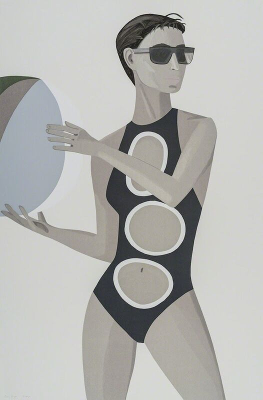 Alex Katz, 'Anne, from Chance', 2016, Print, 27 - 33 color silkscreen, Gregg Shienbaum Fine Art