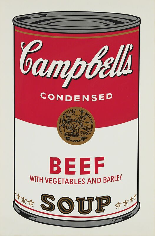 Andy Warhol, 'Beef, from Campbell's Soup I', 1968, Print, Screenprint in colors, on wove paper, with full margins., Phillips
