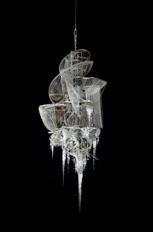 Lee Bul, 'Sternbau No. 29', 2010, Mixed Media, Crystal, glass and acrylic beads on steel and bronze chains, stainless-steel and aluminum armature, PKM Gallery