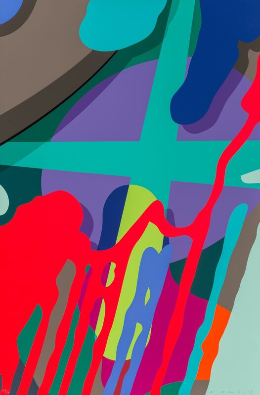 KAWS, 'Untitled, from Tension', 2019, Print, Screenprint in colors on Saunders Waterford paper, Heritage Auctions