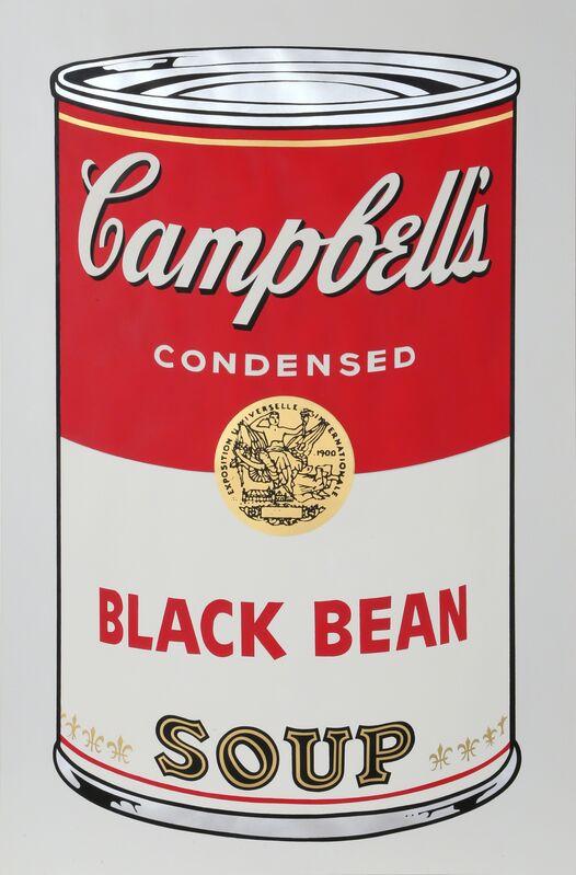 Andy Warhol, 'Black Bean from Campbells Soup I', 1968, Print, Screenprint, RoGallery