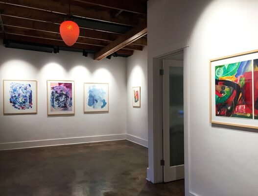 Lino Martinez: New Reality of Geometric Abstraction, installation view