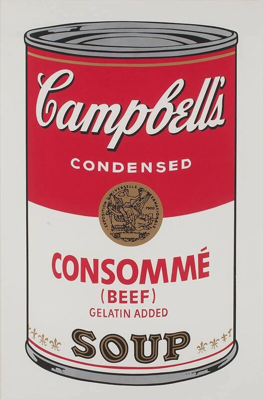Andy Warhol, 'Campbell's Soup I: Consommé (FS II.52) ', 1968, Print, Screenprint on Paper, Revolver Gallery