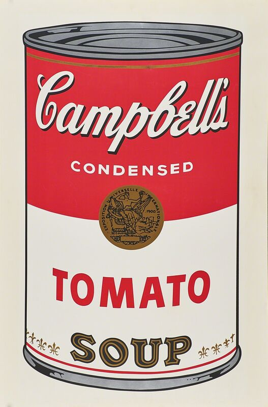 Andy Warhol, 'Campbell's Tomato Soup', 1968, Print, Screenprint in colors, Rago/Wright