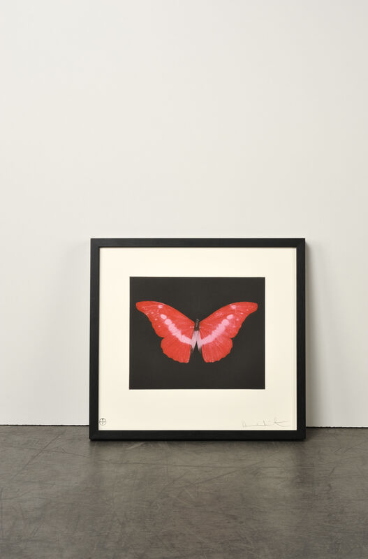 Damien Hirst, 'To Lose (Butterfly)', 2008, Print, Etching, Weng Contemporary