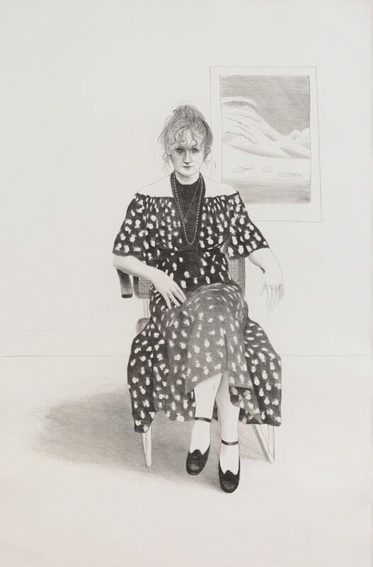 David Hockney, 'Celia, 8365 Melrose Avenue, Hollywood', 1973, Print, Lithograph, Tanya Baxter Contemporary