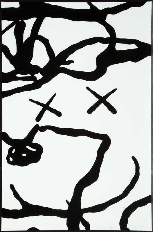 KAWS, 'Untitled, from Man's Best Friend', 2016, Print, Screenprint in black and white on Saunders Waterford High White paper, Heritage Auctions