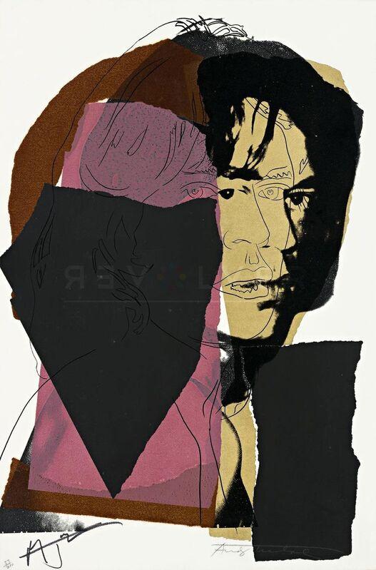 Andy Warhol, 'Mick Jagger 139', 1975, Print, Screen Print, ArtLife Gallery