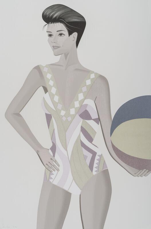 Alex Katz, 'Chance 3 (Darinko)', 2016, Print, 33-Color silkscreen on Saunders Waterford, White, Cold press, 300 gsm fine art paper, Corridor Contemporary