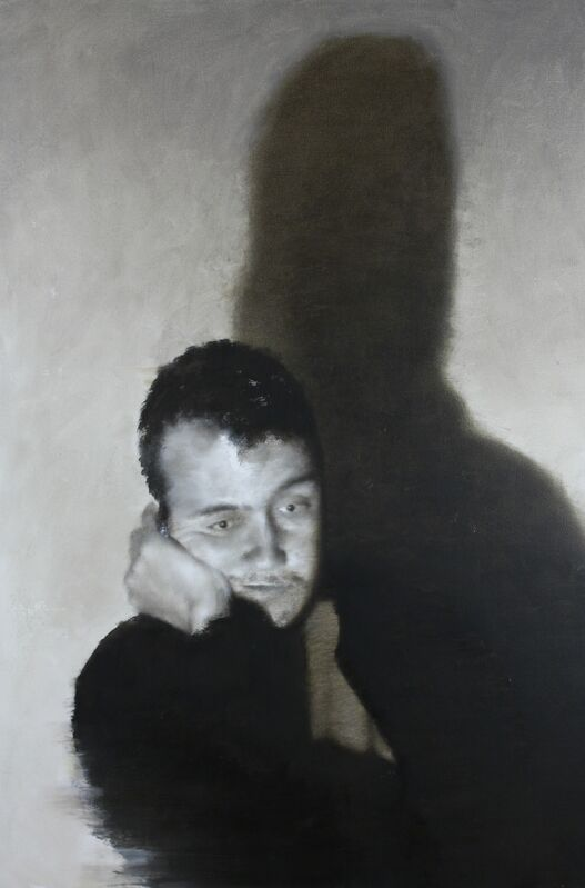 William Reinsch, 'Self Portrait', 2019, Painting, Oil on canvas, Castlegate House Gallery
