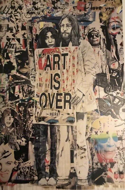 Mr. Brainwash, 'Art Is Over', 2010, Print, Offset Lithograph, New Union Gallery