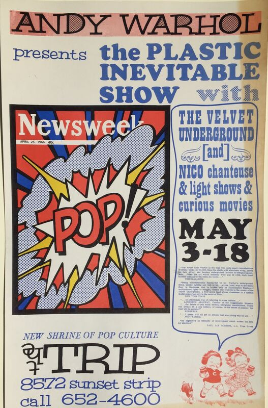 Andy Warhol, '(after) ANDY WARHOL 1966 POP CULTURE ICONIC POSTER  Read Description below', 1966, Print, Color serigraph, Roger Genser - The Prints and the Pauper
