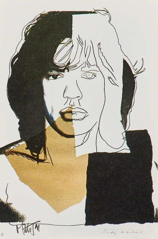 Andy Warhol, 'Mick Jagger', 1975, Print, Complete set of ten announcement cards (in original Castelli Graphics invite folder), Rago/Wright
