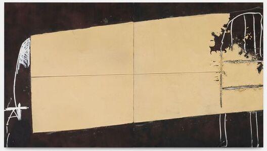 Antoni Tàpies, 'Llit', 1995