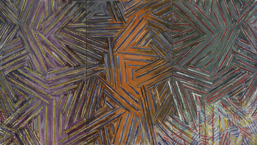 Jasper Johns, 'Between The Clock and The Bed', 1981