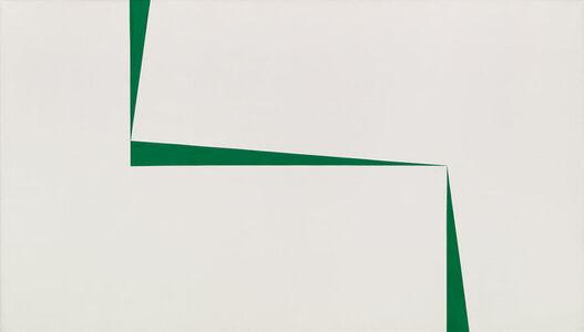 Carmen Herrera, 'Blanco y Verde', 1967