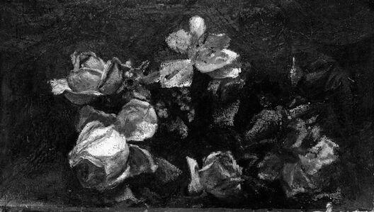 John La Farge, 'Flowers—Decorative Study', by 1890; reworked 1910