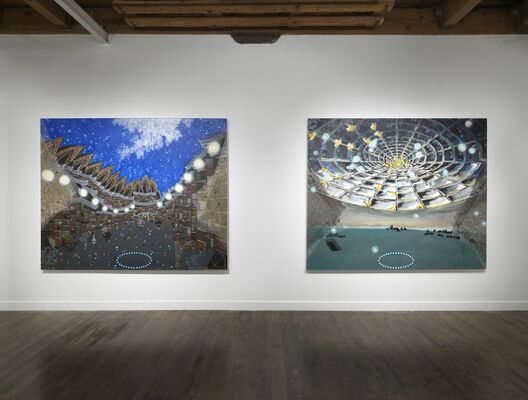 Michiko Itatani: Starry Night Encounter, installation view