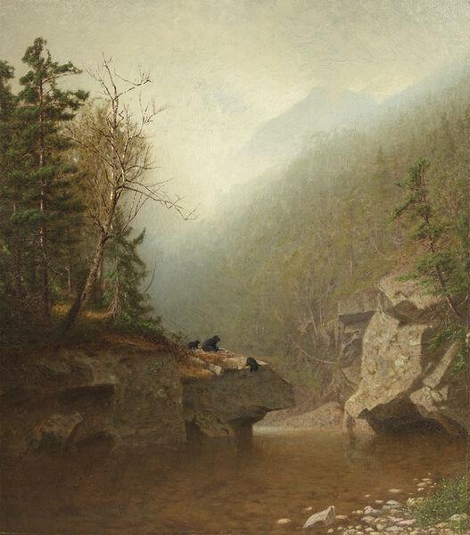 Alexander Helwig Wyant, 'Three Bears', Date Unknown.