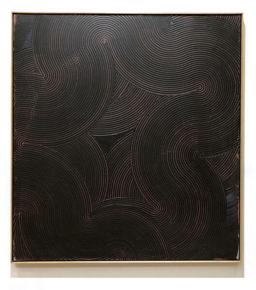 Duayne Hatchett, 'Red Line Swirl', 1990