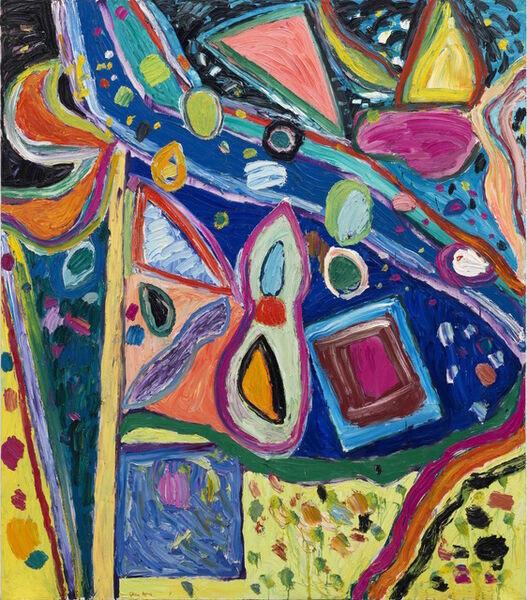 Gillian Ayres, 'Untitled Rome Series I 无题(罗马系列之一)', 1997