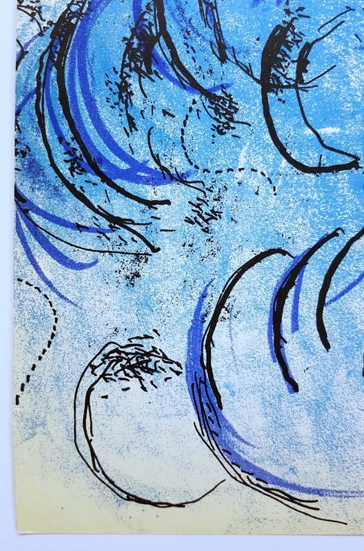Marc Chagall, 'The Flute Player', 1957, Print, Lithograph, Graves International Art
