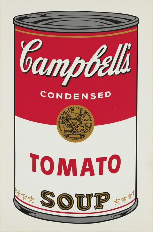 Andy Warhol, 'Tomato, from Campbell's Soup I', 1968, Print, Screenprint in colors, on wove paper, with full margins., Phillips