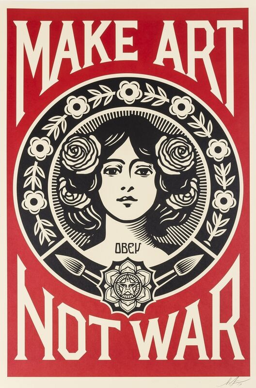 Shepard Fairey, 'Three works', 2017, Print, Three offset lithographs printed in colours, Forum Auctions