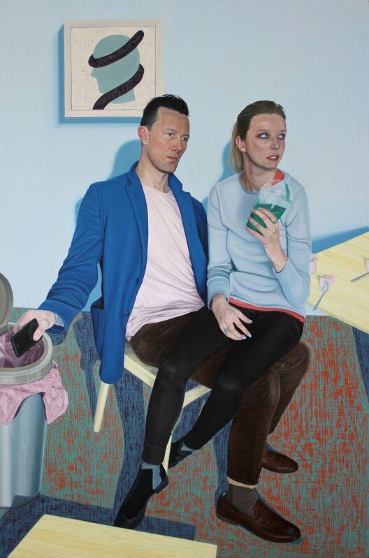 Tristan Pigott, 'A Couple', 2014-2015, Painting, Oil on linen, Cob