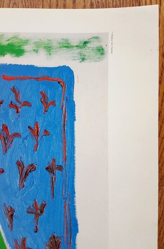 David Hockney, 'Hockney Paints the Stage', 1983, Print, Offset-Lithograph, Exhibition Poster, Graves International Art