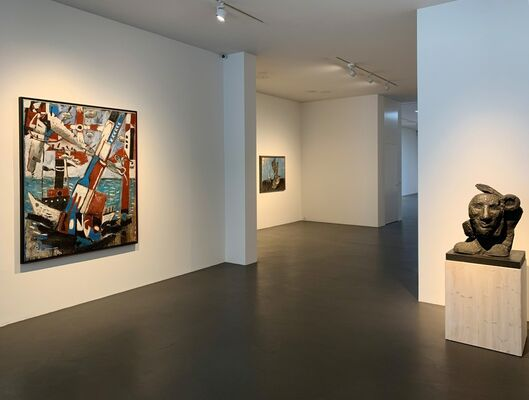 German Art from Private Collections, installation view