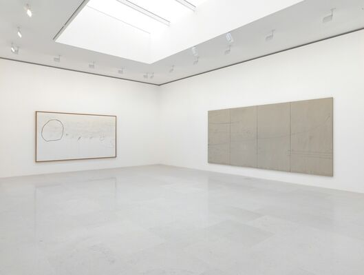 Cy Twombly: Orpheus, installation view