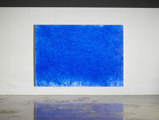 KIM,TSCHOON-SU,  ' THE AESTETICS OF BODY-ULTRAMARINE', installation view