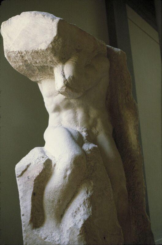 Michelangelo Buonarroti, 'Bound Slave (Captive Atlas)', ca. 1516-19, Sculpture, Marble, Allan Kohl