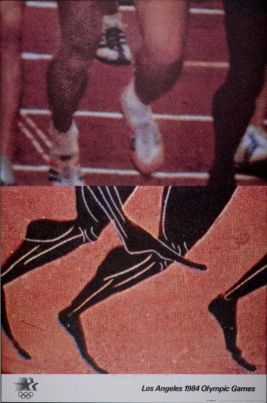 John Baldessari, 'Los Angeles Olympic Games', 1984, Print, Lithograph, AFL