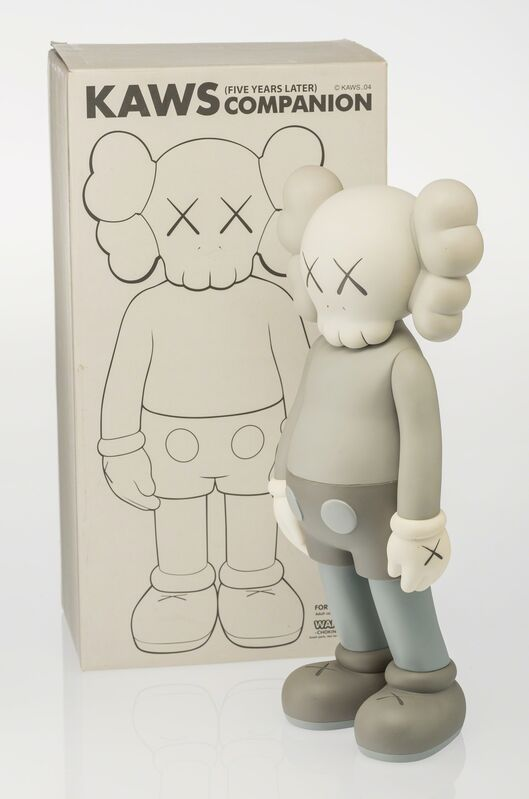 KAWS, 'Companion (Five Years Later) (Grey)', 2004, Other, Painted cast vinyl, Heritage Auctions