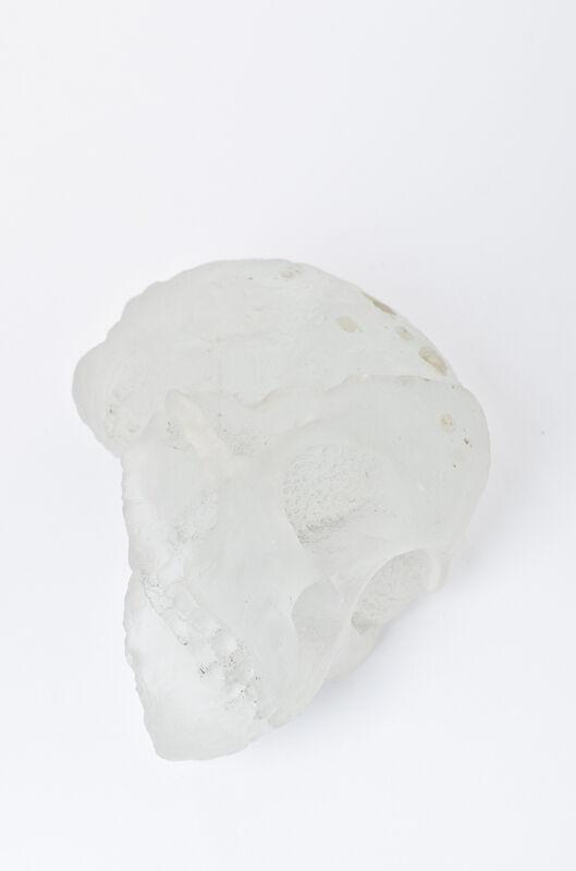 Kendell Geers, 'Past, Perfect Tense VII', 2012, Sculpture, Crystal glass cast, Goodman Gallery